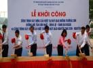 le khoi cong du an xay cau vuot nut giao duong truong son duong truong son binh loi vanh dai ngoai 0922