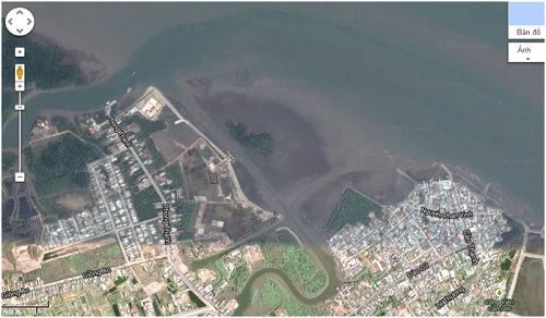 Dự án nạo vét luồng vào bến Cơ Khí thuộc thị trấn Cần Thạnh huyện Cần Giờ