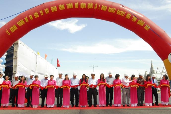 Hoàn thành nâng cấp gần 30km QL1 qua Quảng Nam đúng hạn
