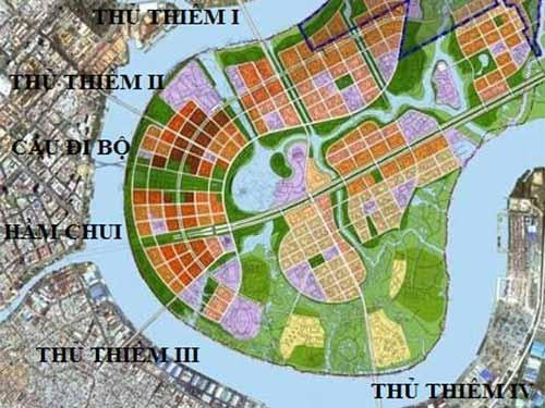 TP HCM sắp xây cầu Thủ Thiêm 4