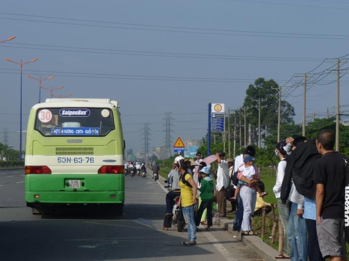 TP HCM đầu tư 240 tỷ đồng xây bãi trung chuyển xe buýt