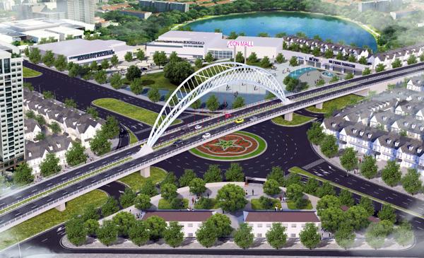 Hải Phòng: Khởi công xây dựng cầu vượt nút giao Nguyễn Văn Linh
